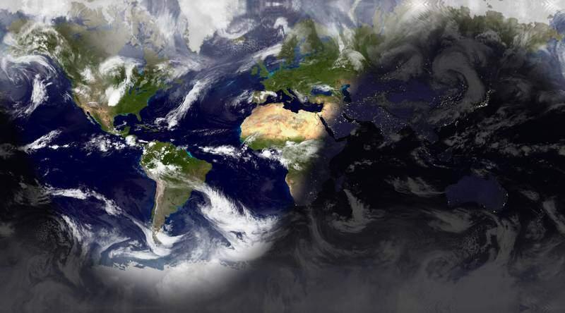 Watch Night And Day World Sunlight Map FoXnoMad - World sunlight map
