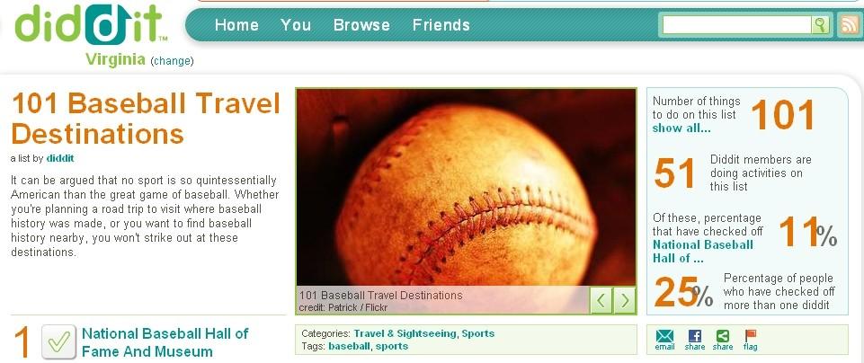 diddit baseball page