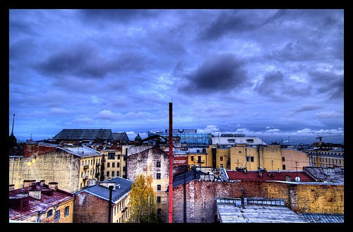 rooftops of st. petersburg