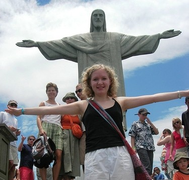 arms wide in brazil