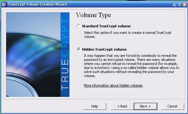 hidden truecrypt volume