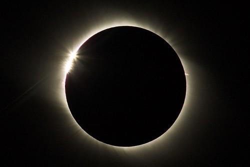 solar eclipse in gobi desert