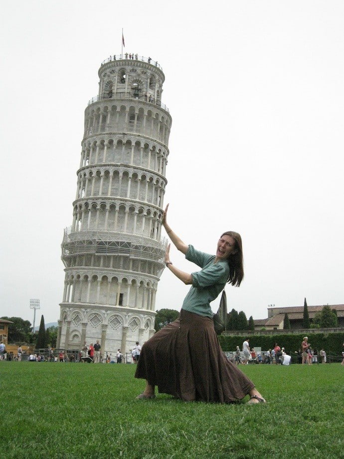 shannon odonnell leaning tower of pisa
