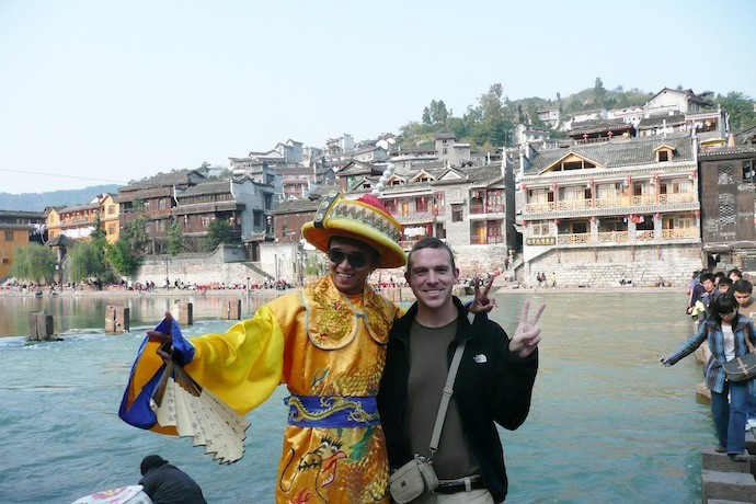 tighe flanagan in fenghuang china