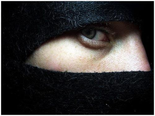 face of a ninja