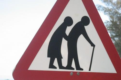 old people crossing