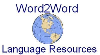 word2word logo