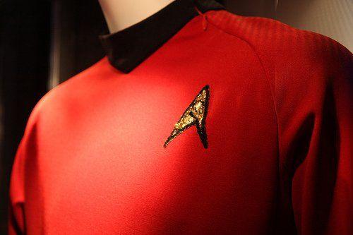 star trek red uniform