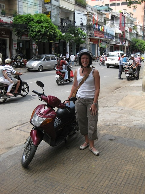 sherry ott motorbike