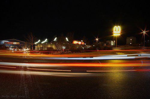 street scene in iceland