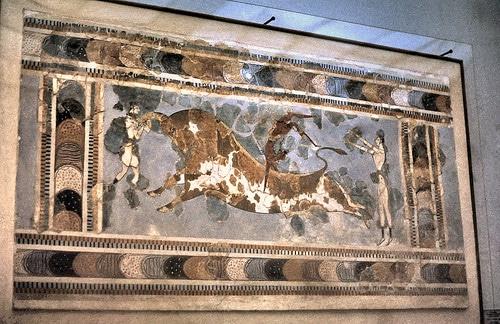 bull leapers minoan museum
