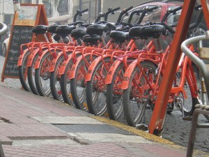 A Ride And Review Of La Bicicleta Naranja In Buenos Aires