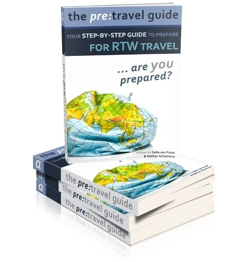 A Review Of The Pre-Travel Guide eBook: Preparing For An RTW