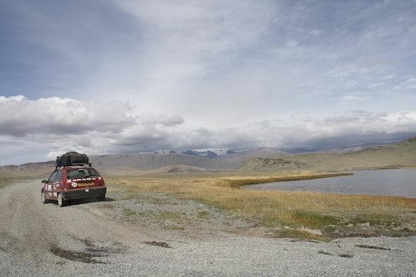 mongol rally ulaanbaatear mongolia