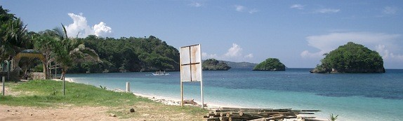 Philippine beach panorama