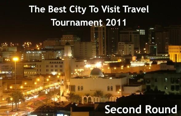 best city to visit 2011 second round