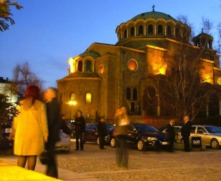 Saint Nedelya Church sofia bulgaria