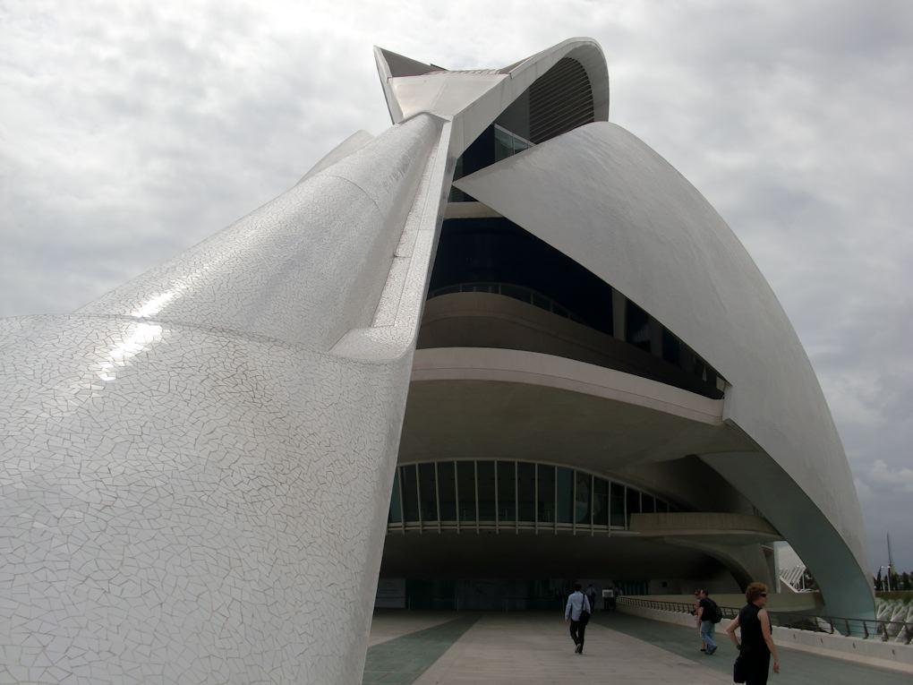 El Palau de les Arts Reina Sofía valencia spain