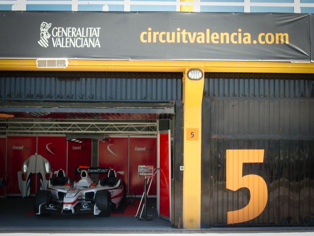 best lap f1 x 3 experience valencia