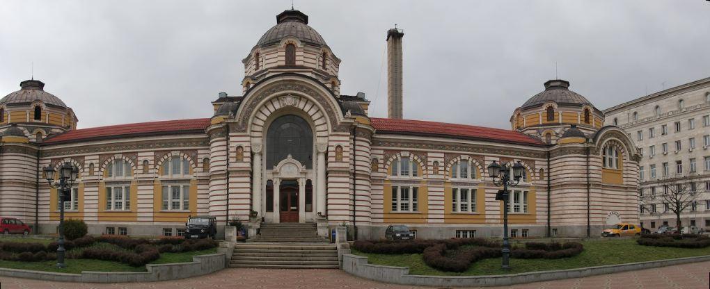 sofia bulgaria mineral public baths