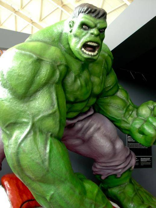 the incredible hulk in valencia