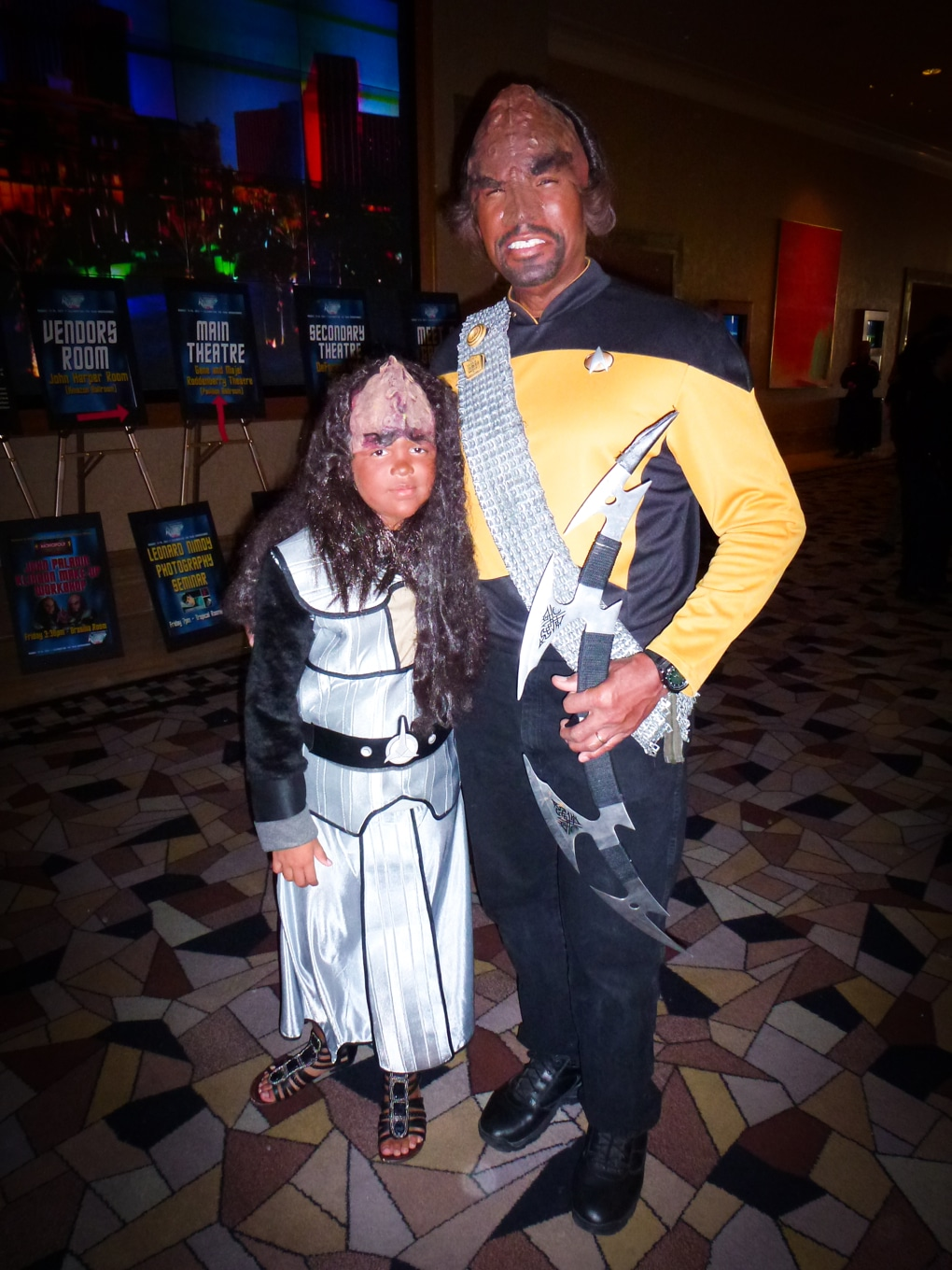 two klingons star trek las vegas