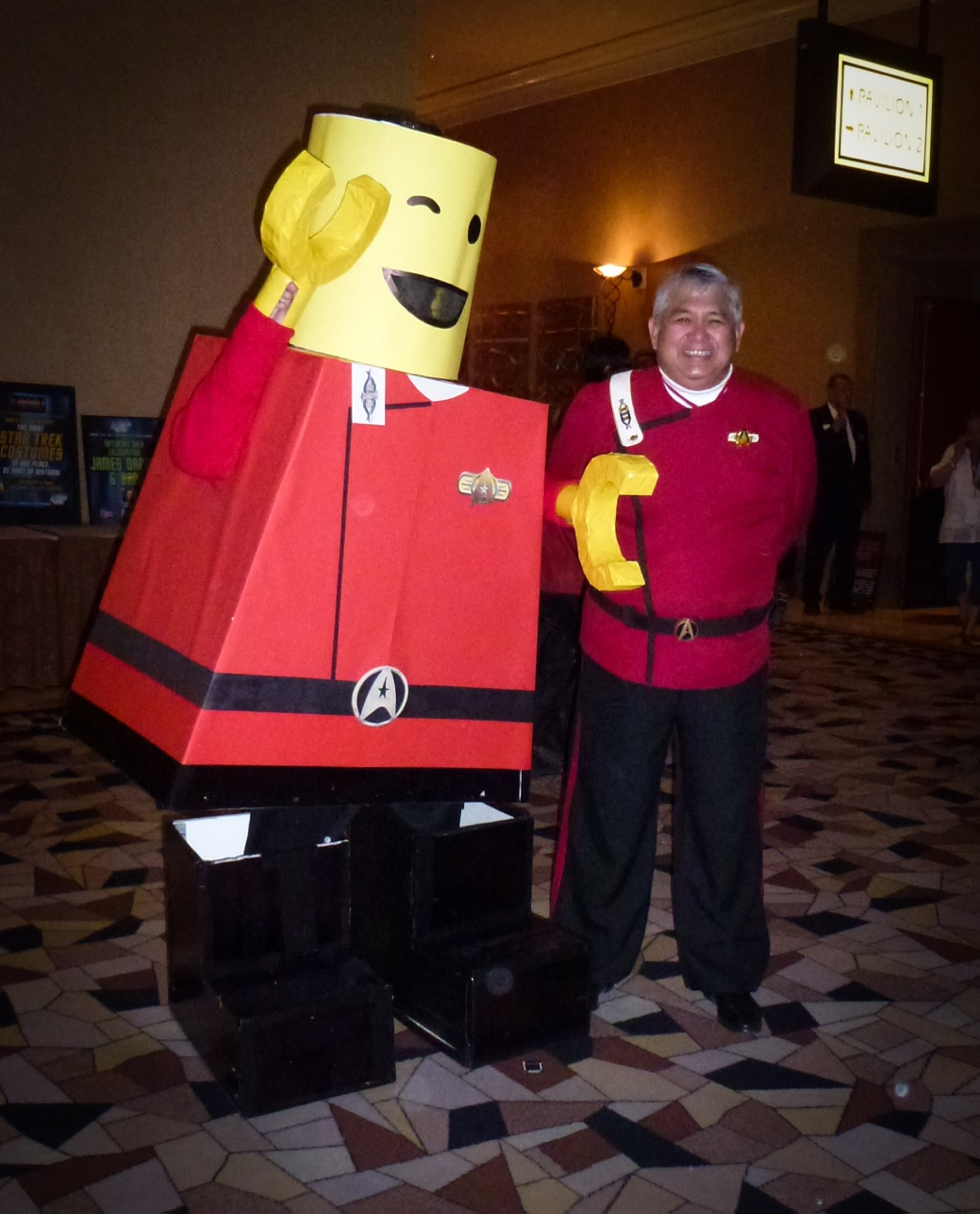 space lego star trek las vegas 2011