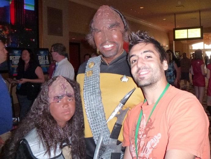 las vegas star trek convention klingons