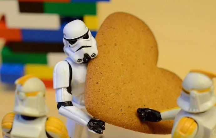 storm trooper cookie