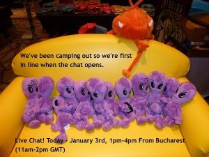 Reminder: Live Chat Today From Bucharest 11AM-2PM GMT Talking Long Term Travel