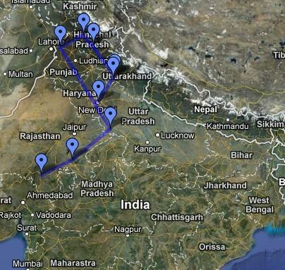 india route