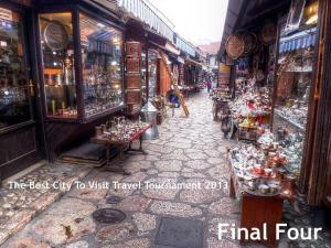 The Best City To Visit Travel Tournament 2013: Final Four