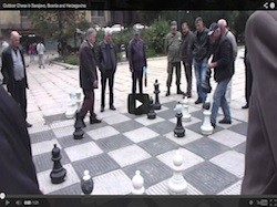 You'll Never Play Chess The Same Way Once You See How They Do It In Sarajevo