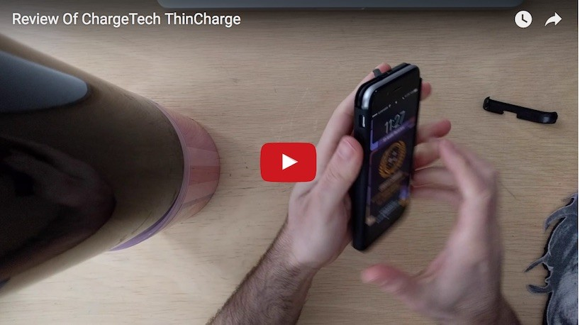 A Review Of The World's Thinnest iPhone Charging Case: ChargeTech ThinCharge
