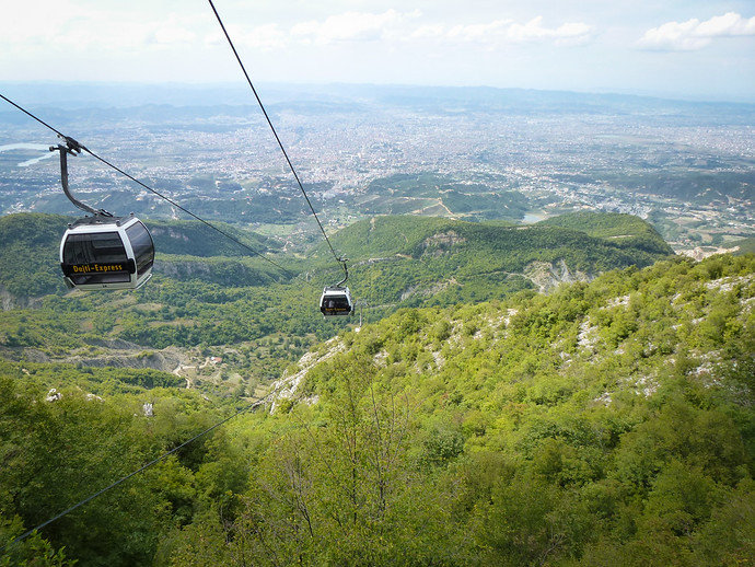 How To Get To The Top Of Tirana, Albania's Mount Dajti By Cable Car