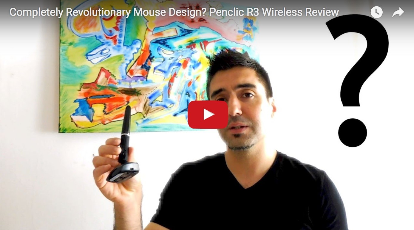 Small, Ergonomic, Revolutionary? A Review Of The Penclic R3 Wireless Mouse