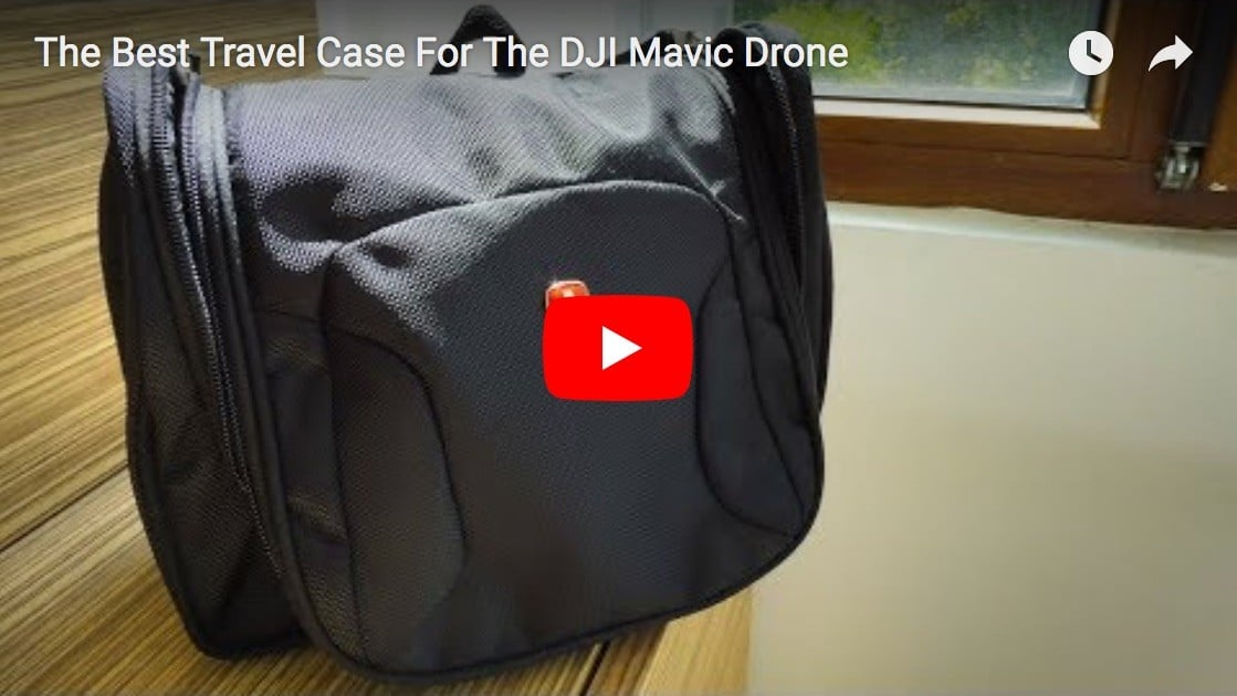 The Best Travel Case For The DJI Mavic Pro Drone Is A Toiletry Kit